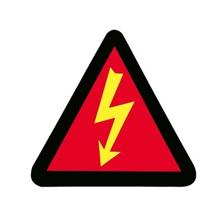 voltage gray: High Voltage Sign, Symbol Stock Photo