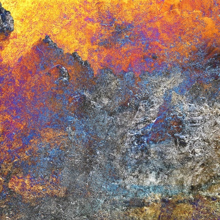 Background of abstract painted on cement, textured background  Stock Photo