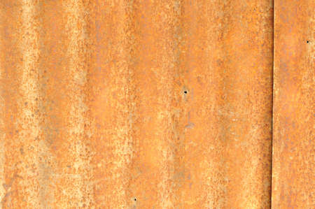 rusty corrugated metal texture photo