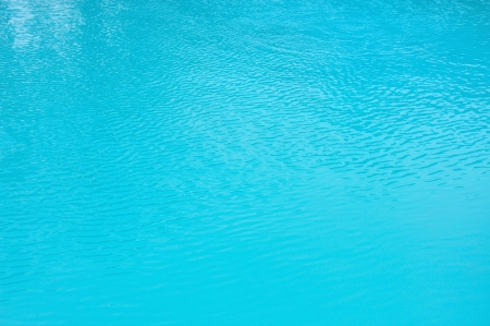 Texture of water in swimming pool Stock Photo