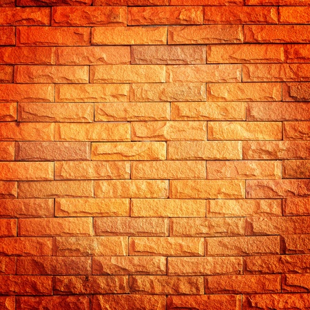 Close up of brick wall photo