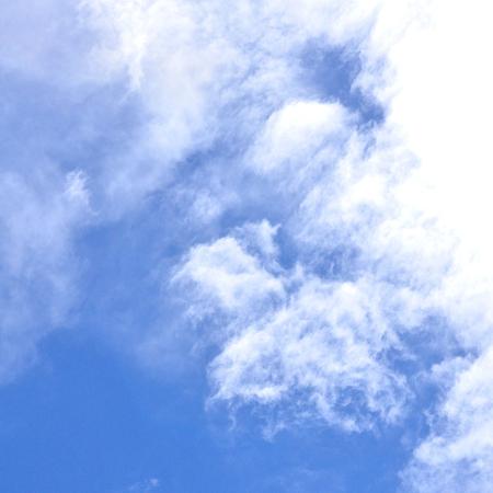 Beautiful cloudscape, Blue sky Stock Photo
