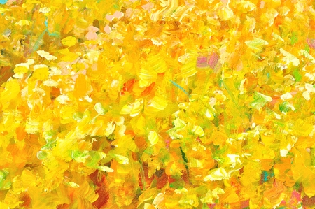 Abstract paint background, Yellow background photo
