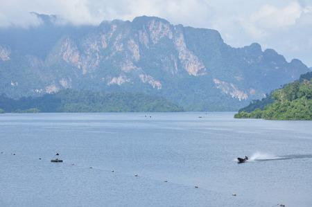 thani: Rajjaprapha Dam in Surat Thani, Thailand, Hydro Power Electric Dam