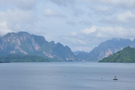 hydro electric: Rajjaprapha Dam in Surat Thani, Thailand, Hydro Power Electric Dam