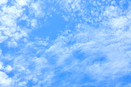 cloudscape: Beautiful cloudscape, Blue sky Stock Photo