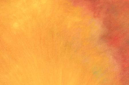 paint background: Fondo abstracto de la pintura, fondo naranja
