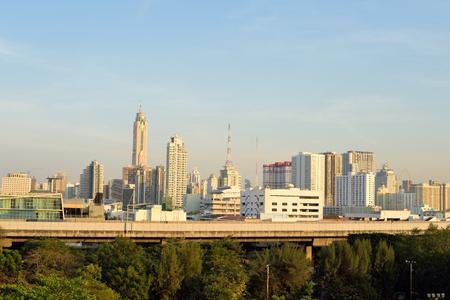 Modern building at Bangkok, Thailand Stock Photo