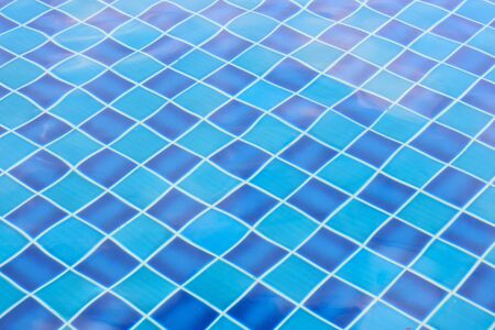 Texture of swimming pool tile