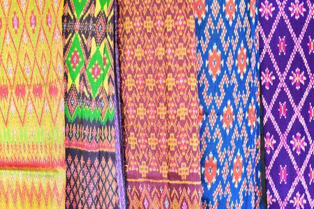 Silk fabric texture, Thai silk