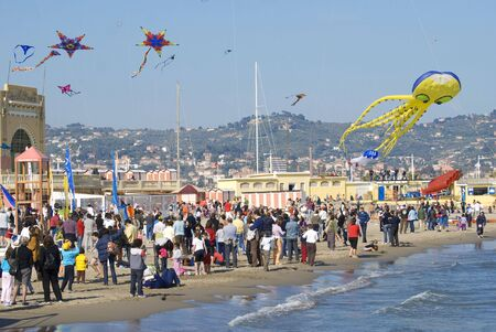 Imperia, Italy - April 10-11, 2010 - 11� Edition of the International Festival of the Kites.