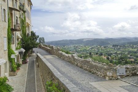 Landscape from Saint Paul de Vence photo