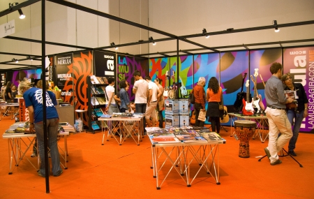 editors: International Book Fair - Turin, Italy - 10th-14th May, 2012