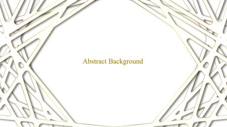 Luxury White Abstract Background