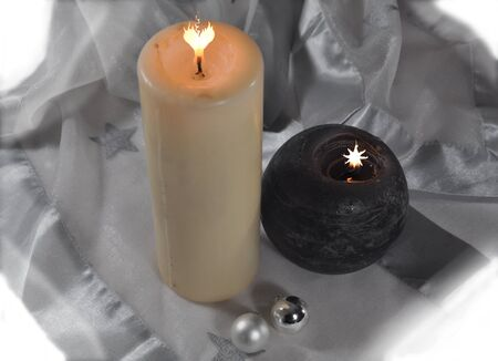 image editing: mystic candles