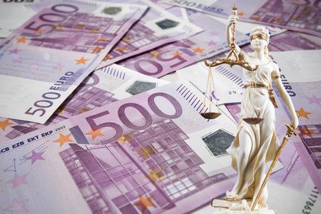 Court -  a lot of money