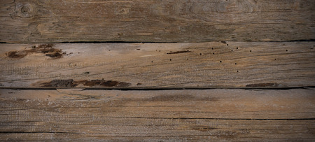 old, weathered wooden boards with beautiful patina form a background for the decorative design.