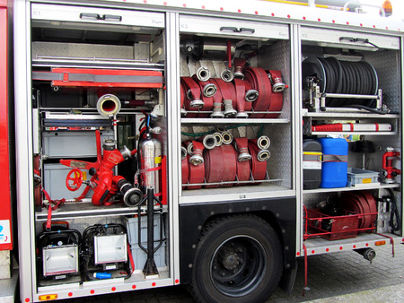 camion pompier: Fire Truck Equipment Rotterdam, Pays-Bas