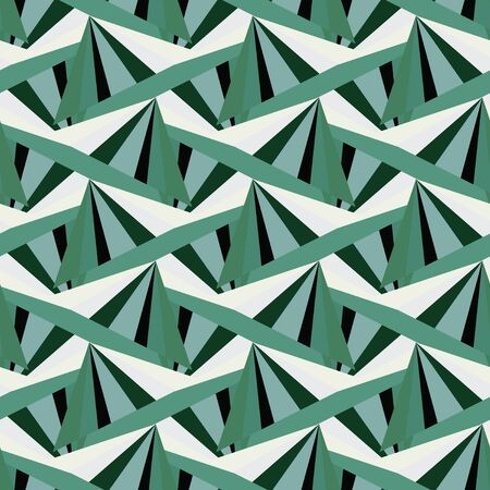 lozenge: abstract green harlequin argyle vector seamless pattern with lozenge elements emeralds