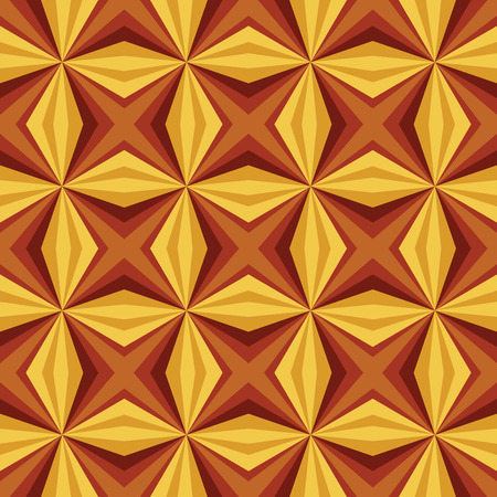 tectonic: Seamless relief pyramid pattern. Vector illustration.