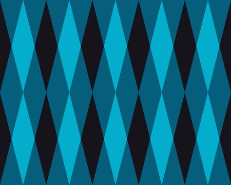 tiling: Vector Seamless Geometric Blue  Rhombus Triangle Tiling Pattern Abstract Background