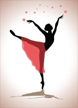 danza moderna: bailarín Vectores