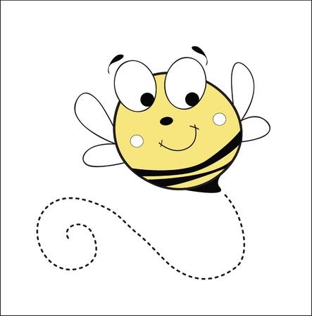 bee stinger: bee