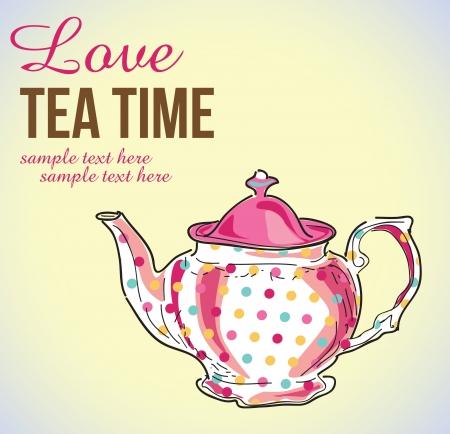 teapot: tea pot Illustration
