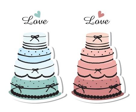 wedding cake: wedding cakes isolated