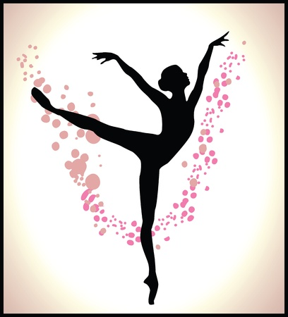 6,421 Modern Dancer Stock Vector Illustration And Royalty Free ...