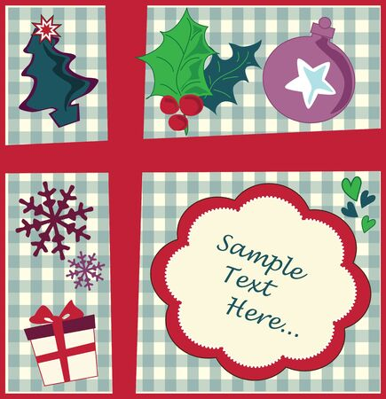 Christmas background Stock Vector - 18759621