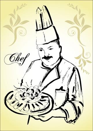chef cook design Vector