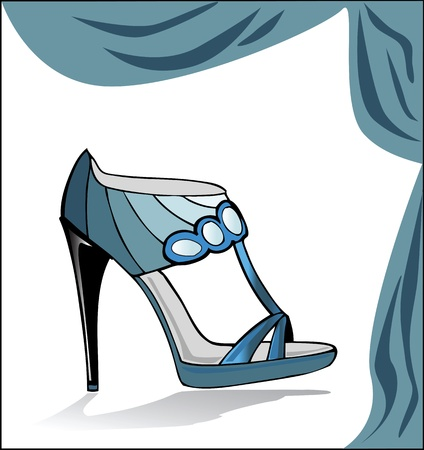 entice: vector fashion shoe