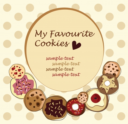 white goods: cookies