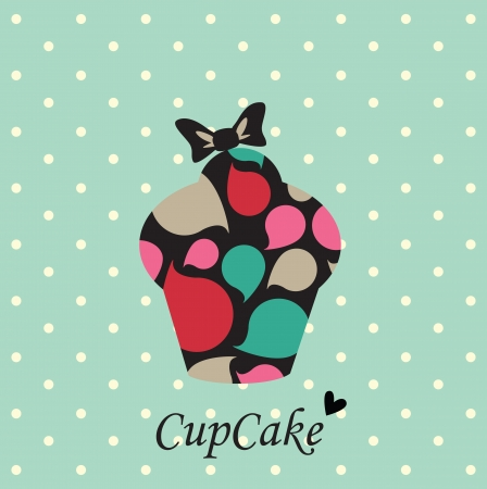 chocolate mousse: Cupcake