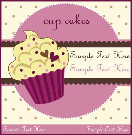 sugar cookies: cupcake card