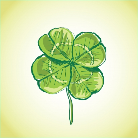four leaf clover Stock Vector - 18760328