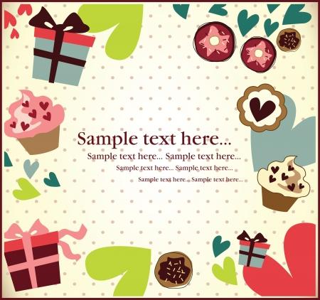 deseos: cumplea�os tarjeta de invitaci�n