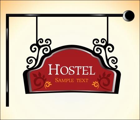 Hostel teken
