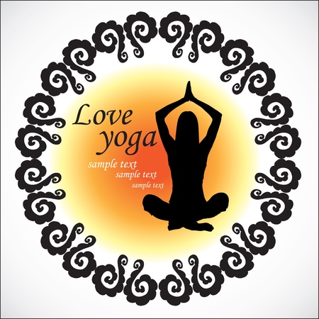 yoga Stock Vector - 18794548