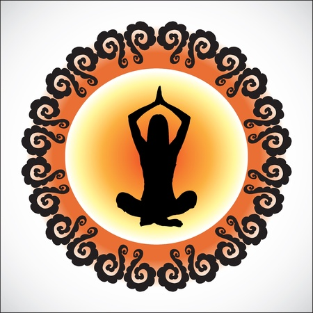 yoga Stock Vector - 18794549