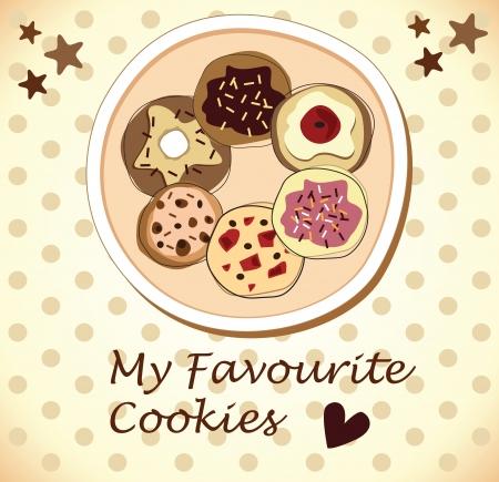 holiday cookies: galletas de chocolate