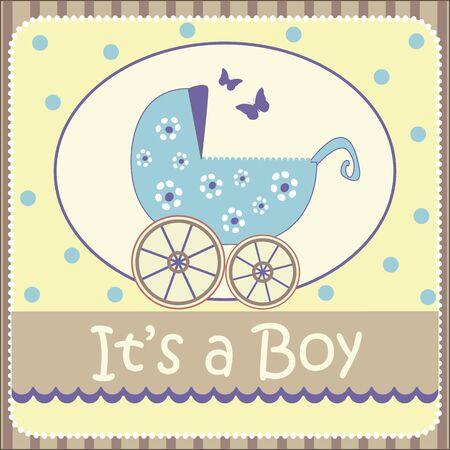 baby boy announcement: baby boy announcement card