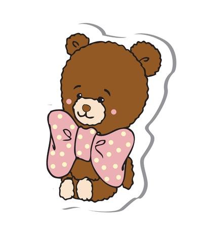 teddy bear Stock Vector - 18794597