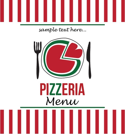 pizza menu Stock Vector - 18794642