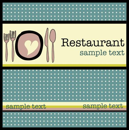 Restaurant menu Stock Vector - 18794949