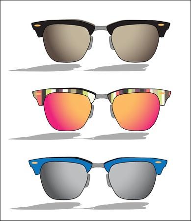 glamur: vector sun glasses Illustration