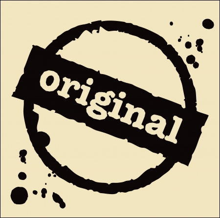 original abstract grunge rubber stamp Stock Vector - 18893019