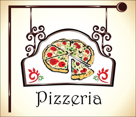 pizzeria sign