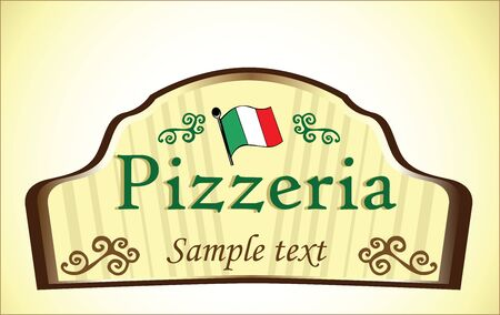 pizzeria sign Stock Vector - 18893026